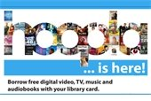 Hoopla streaming for movies, TV, audiobooks and music.