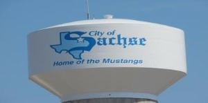 sachse water tower