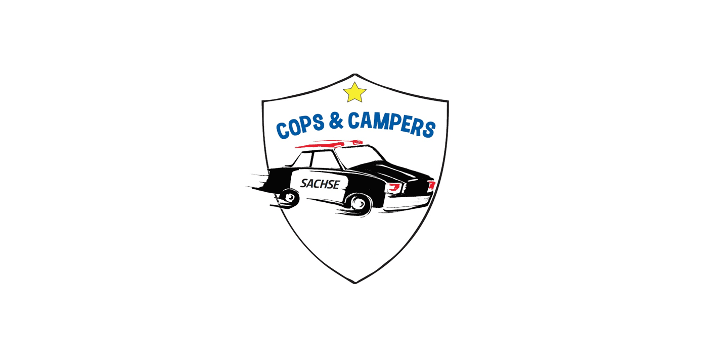 cops and campers logo no date