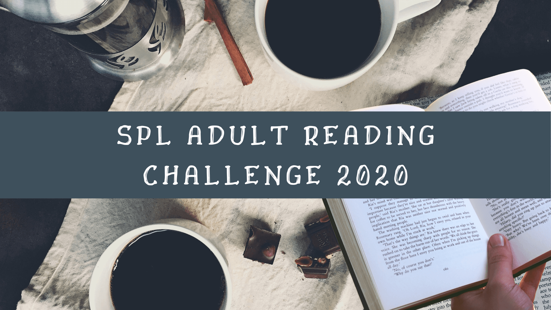 Adult Reading Challenge Scroll