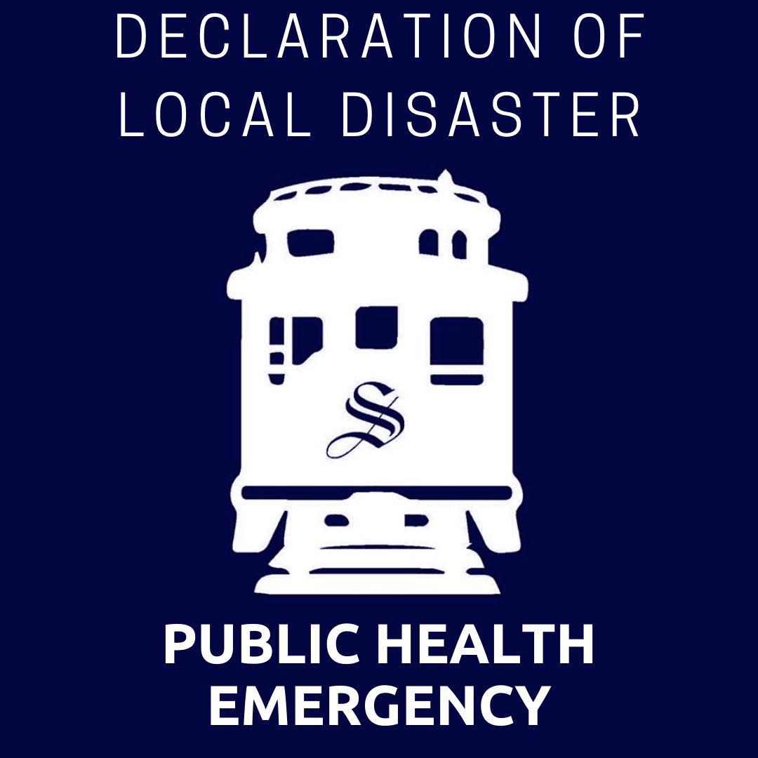 declaration of local disaster