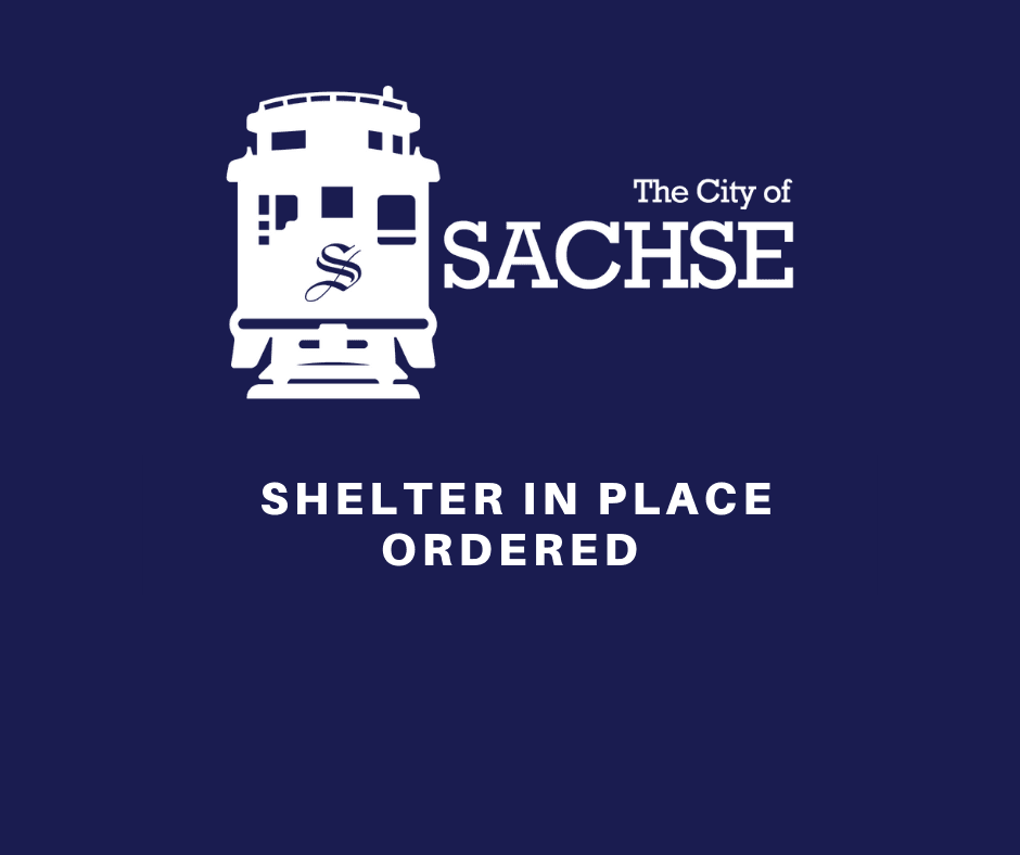 SHELTER IN PLACE ORDER