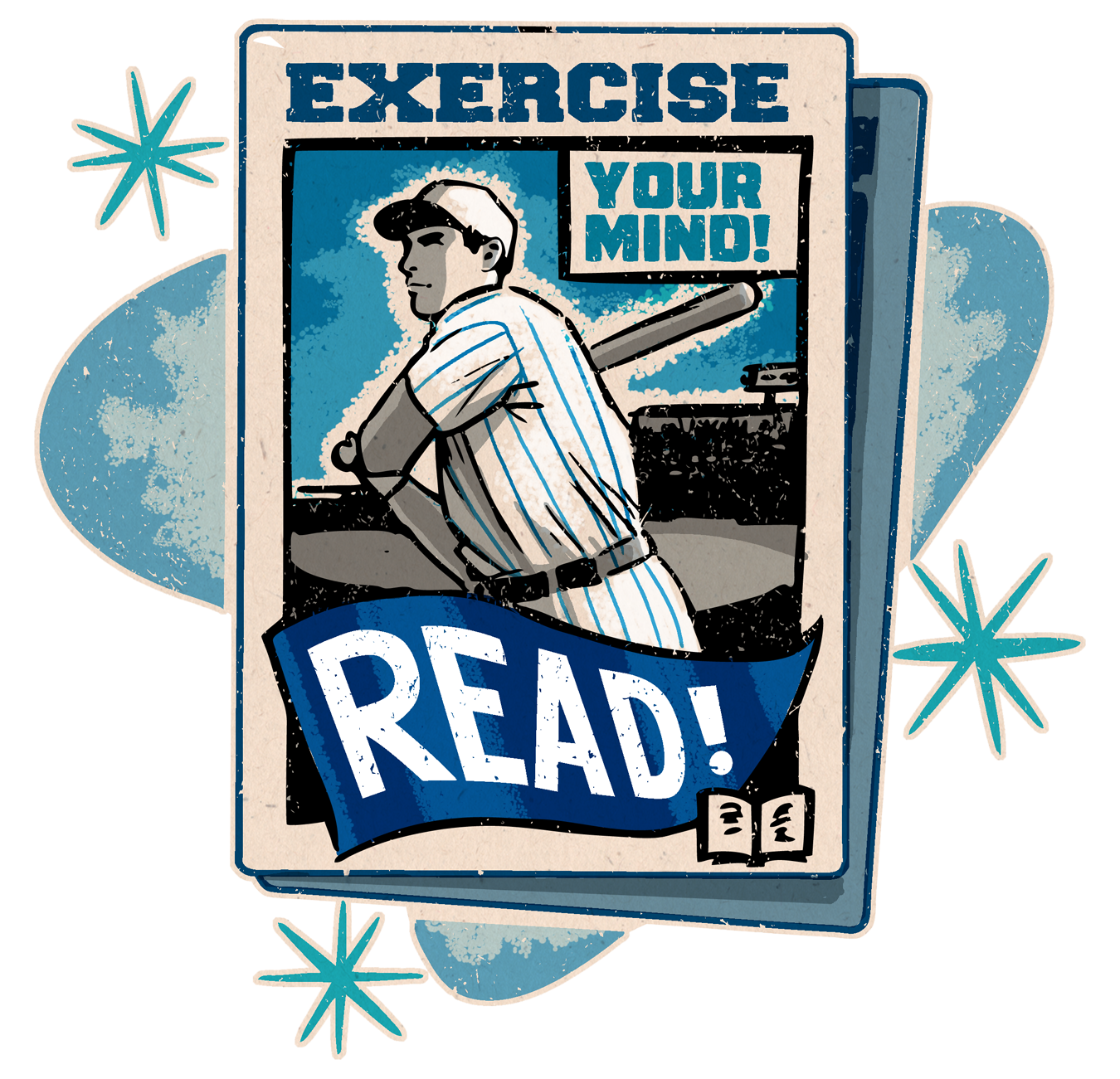 Excerise your mind, read Summer Reading Program