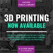 3D Printing Now Available