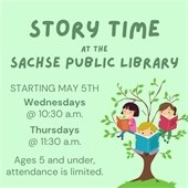 Story Time is Back!