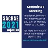 Bond 2021 Meeting Reminder