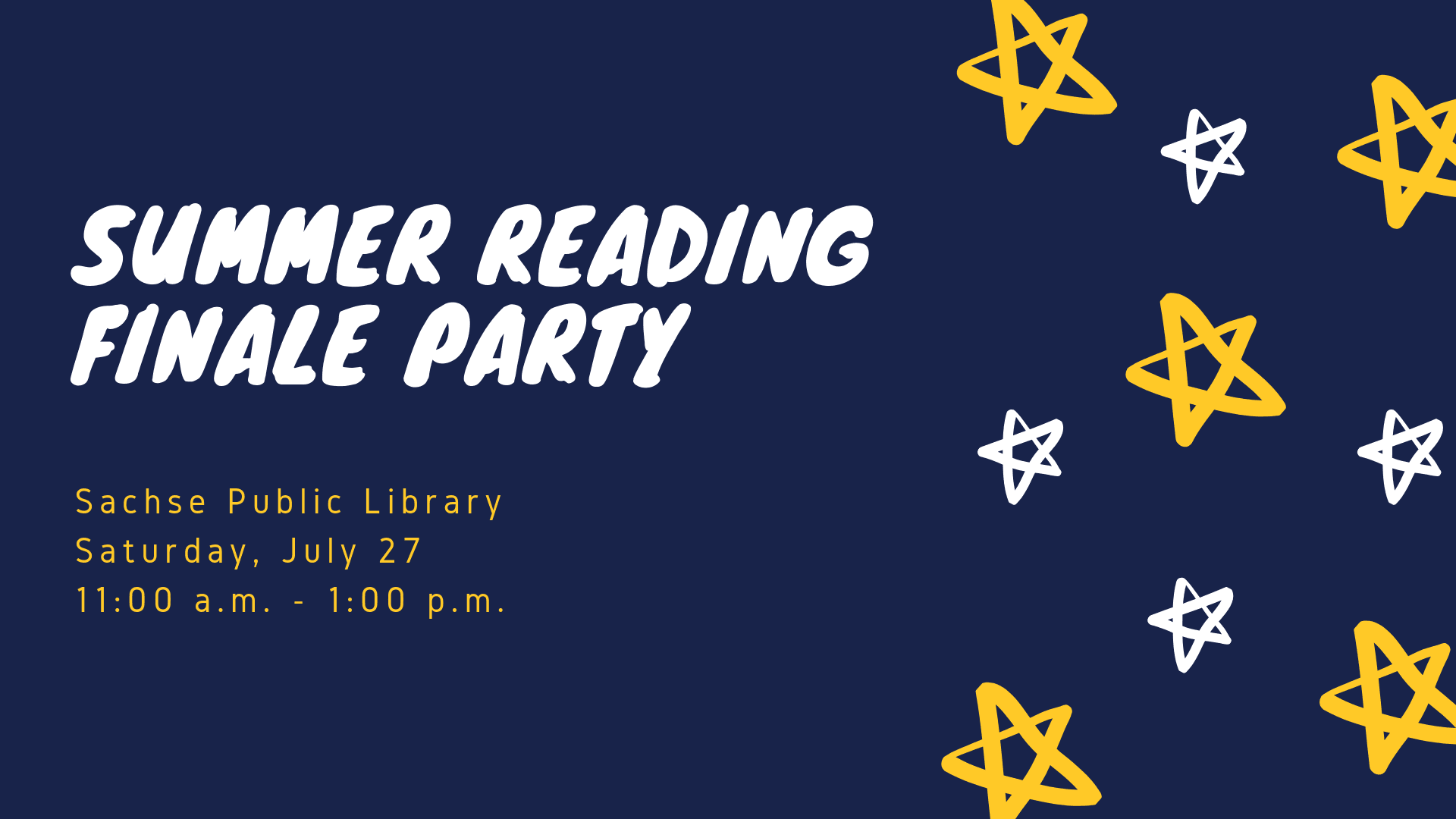 Summer Reading Finale Party